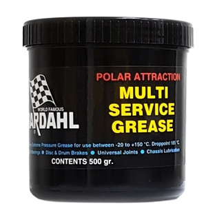 Изображение Универсальная смазка Bardahl Multi Service + Wheelbearing Grease 400 мл.
