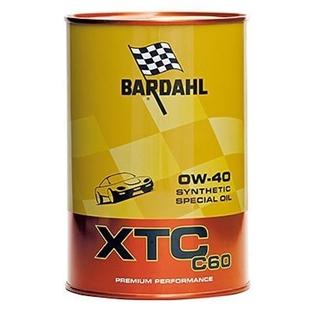 Изображение Моторное масло Bardahl XTC C60 0W40 1 л.