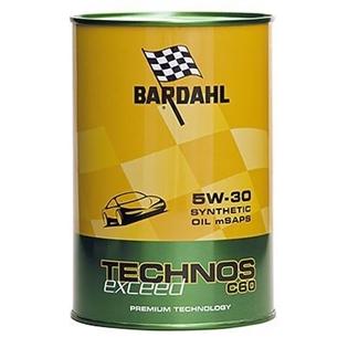 Изображение Моторное масло Bardahl Technos C60 5W30 Exceed 1 л.