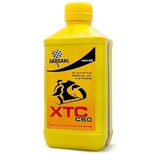 Изображение Моторное масло для 4-х тактных двигателей Bardahl XTC C60 10W50 moto 1 л.