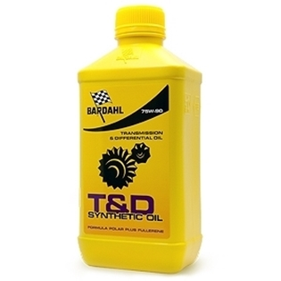 Изображение Трансмиссионное масло Bardahl T&D Synthetic Oil 75W90 1 л.