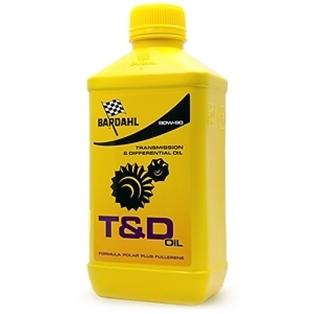 Изображение Трансмиссионное масло Bardahl T&D Oil 80W90 1 л.