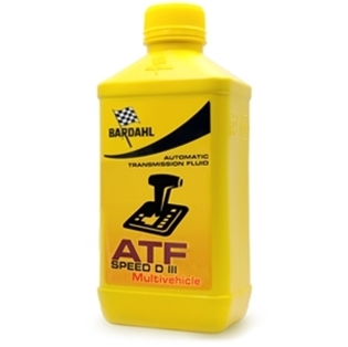 Изображение Трансмиссионное масло Bardahl ATF Speed DIII Multivehicle 1 л.