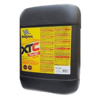 Изображение Моторное масло Bardahl XTC 5W40 20 л.