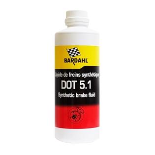 Изображение Тормозная жидкость Bardahl Brake Fluid DOT 5.1 500 мл.