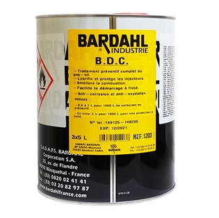 Изображение Комплексная присадка в дизельное топливо Bardahl BDC 5 л.