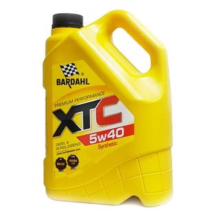 Изображение Моторное масло Bardahl XTC 5W40 5 л.