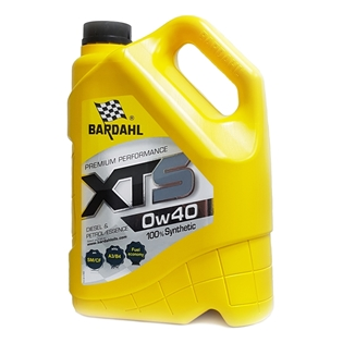 Изображение Моторное масло Bardahl XTS 0W40 4 л.