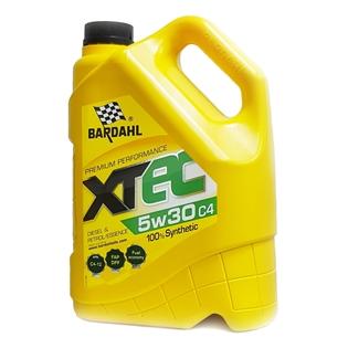 Изображение Масло моторное Bardahl XTEC 5W30 С4 4 л.