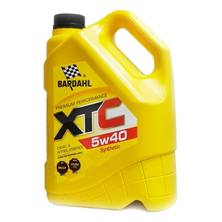 Изображение Моторное масло Bardahl XTC 5W40 4 л.