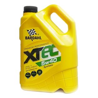 Изображение Моторное масло Bardahl XTEC 5W40 4 л.