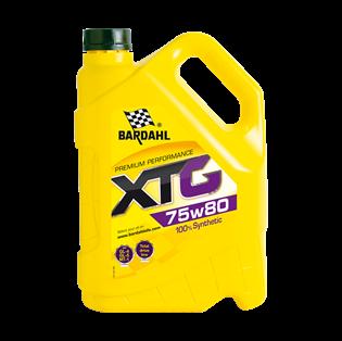 Изображение Трансмиссионное масло Bardahl XTG 75W80 5 л.